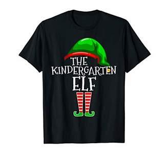 Kindergarten Elf Matching Group Christmas Gift Teacher Class T-Shirt