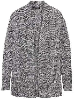 Banana Republic Chunky Cotton Cardigan Sweater