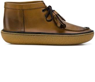 Prada tassel ankle boots