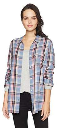 Levi's Women's Plus Size Ryan 1 Pocket Boyfriend Shirt