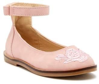 Nicole Miller Soft Pink Ankle Strap Dress Shoe (Toddler)