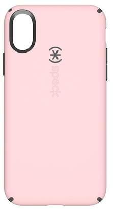 Speck Quartz Pink\u002FSlate Grey iPhone X Candyshell Case