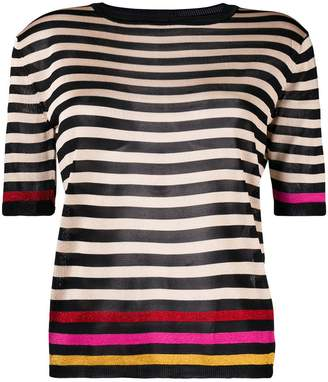 Marco De Vincenzo striped knitted top