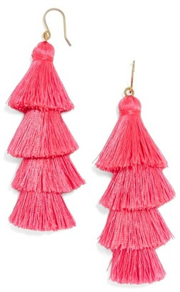 Women's Baublebar Gabriela Fringe Earrings $38 thestylecure.com