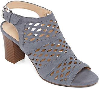 Liz Claiborne Womens Gloria Heeled Sandals