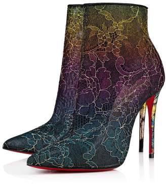 263bcc4413bc Christian Louboutin Lace Boots - ShopStyle