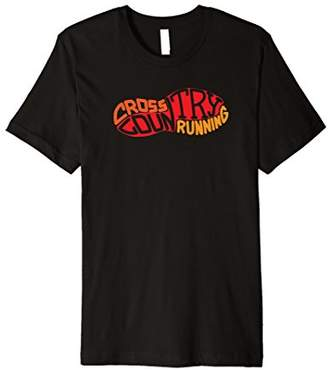 XC Runner Cross Country Runners Training Tee Shirt