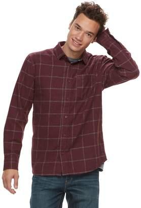 Vans Men's Tell So-K Flannel Button-Down Shirt