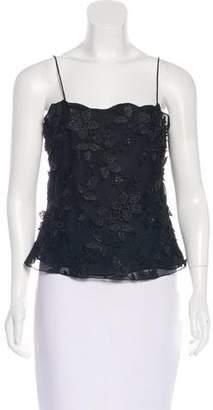Giorgio Armani Sleeveless Silk Blouse