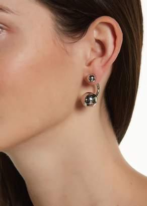 Trina Turk Copper Tone Beaded Jacket Earrings
