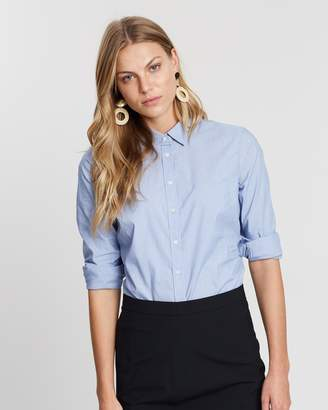 Banana Republic Riley Tailored Fit Solid Shirt