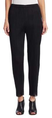 Pleats Please Issey Miyake Straight Pleated Pants