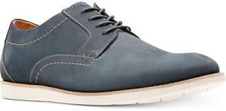 Clarks Men's Raharto Suede Plain-Toe Oxfords Men's Shoes