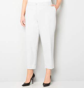 Avenue Peached Twill Ankle Pant