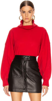 Equipment Aixenne Turtleneck Sweater in Rio Red | FWRD