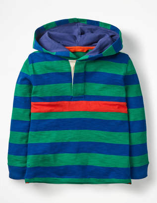 Boden Hooded Rugby Shirt