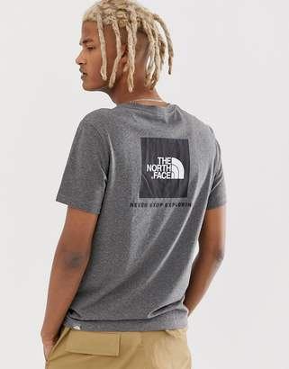 The North Face Red Box T-Shirt in Gray