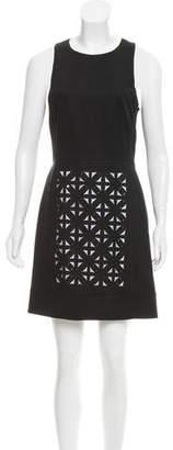 Tibi Lase Cut- Paneled Mini Dress w/ Tags