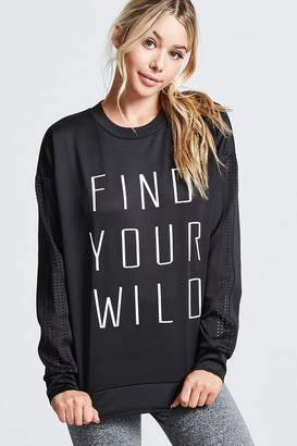 Forever 21 Active Find Your Wild Top