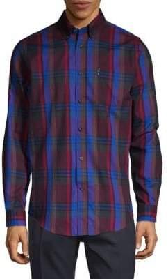 Ben Sherman Plaid Button-Down Shirt