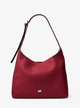 Michael Kors Junie Medium Leather Shoulder Bag