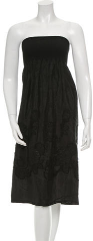 3.1 Phillip Lim3.1 Phillip Lim Ruched Embroidered Dress