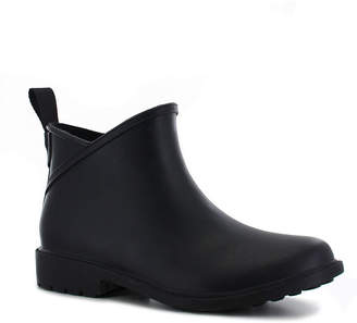 Chooka FASHION Fashion Womens Brinn Waterproof Flat Heel Pull-on Ankle Rain Boots