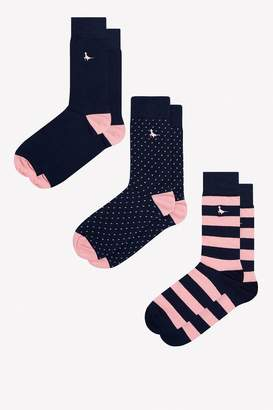 Jack Wills Alandale 3 Pack Socks