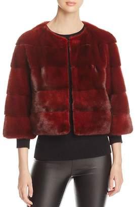 Maximilian Furs Cropped Nafa Mink Fur Jacket - 100% Exclusive