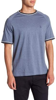 Original Penguin Heathered Jacquard Stripe Tee