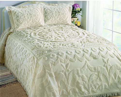 Chantilly Chenille Bedspread