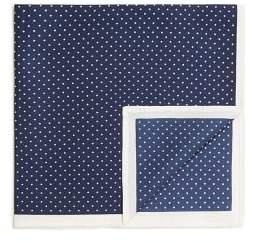 MANGO Polka-dot silk pocket square