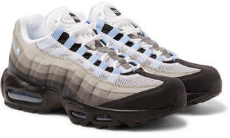 Nike 95 Mesh And Suede Sneakers