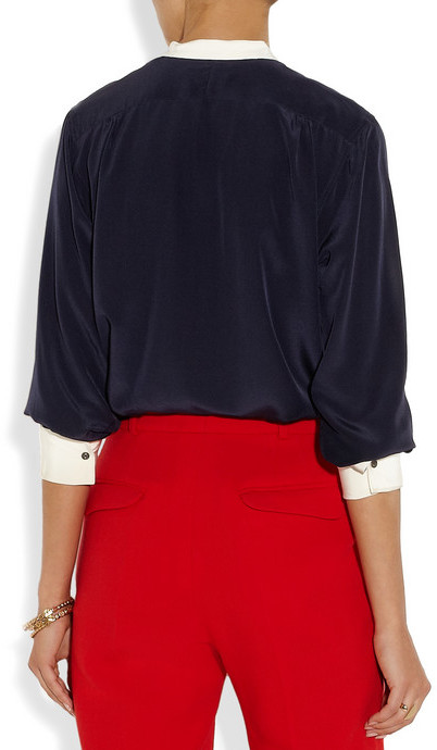 MiH Jeans Tails silk shirt