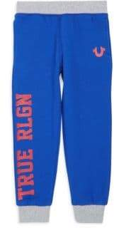 True Religion Little Boy's Varisity Sweatpants