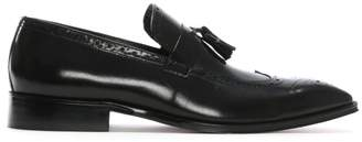 Daniel Evershot Brown Suede Brogue Loafers