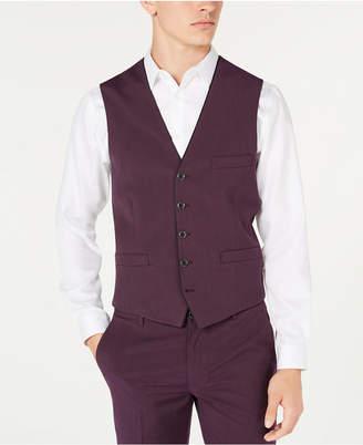 INC International Concepts Inc Men Slim-Fit Skull-Lined Vest