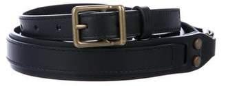 Lanvin Wrap Around Leather Belt