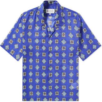 Maison Margiela 10 Printed Muslin Vacation Shirt