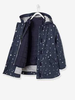 fedd5adf5b03 Vertbaudet 3-in-1 Raincoat for Girls