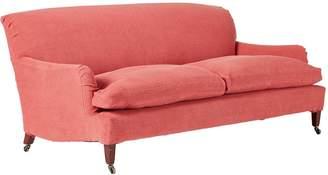 OKA Coleridge 3-Seater Sofa - Coral