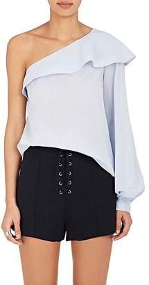 A.L.C. Women's Brielle Cotton Voile One-Shoulder Top