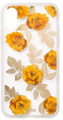 Sonix Autumn Floral Clear Coat iPhone X Case