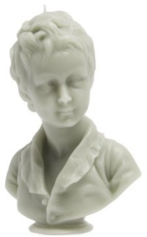 Cire Trudon Alexandre Bust Decorative Candle - Grey
