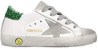 Golden Goose Super Star Leather & Suede Sneakers