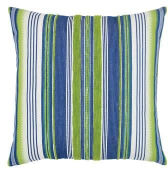 Deep Sea Stripe Indoor/Outdoor Accent Pillow