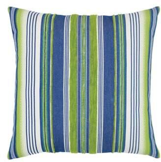 Elaine Smith Deep Sea Stripe Indoor/Outdoor Accent Pillow