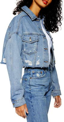 5fe8ac7789a Topshop Women's Denim Jackets - ShopStyle