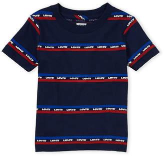 Levi's Toddler Boys) Stripe Logo Tee