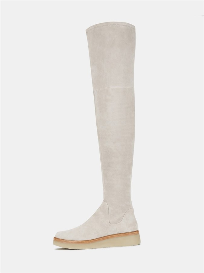 DKNYKyra Stretch Suede Thigh High Boot